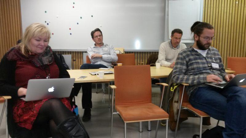 Jaakko Korhonen esitteli D-Cent -projektia.