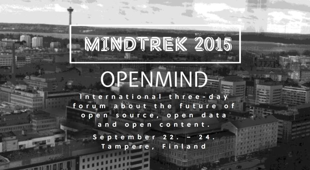 Mindtrek Openmind 2015