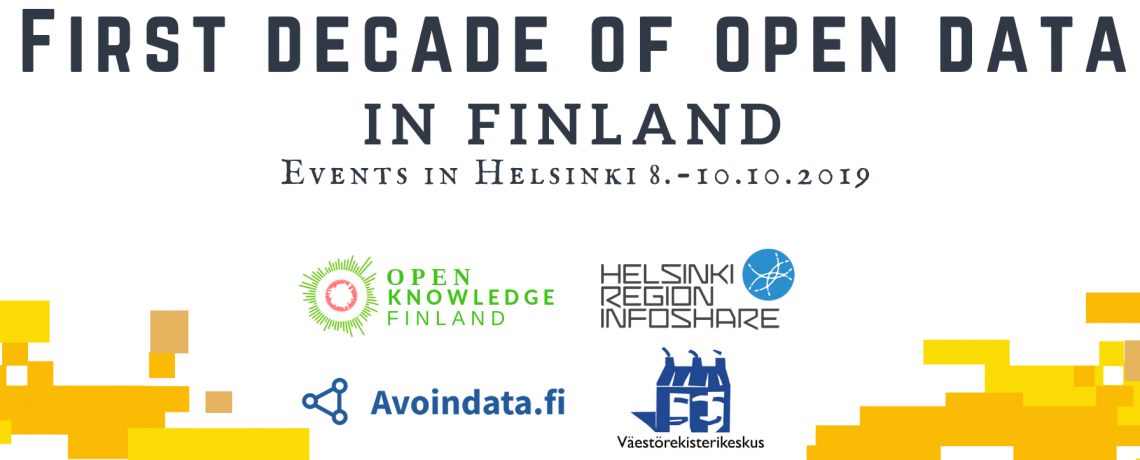 First decade of Open Data in Finland -events 8.-10.10.